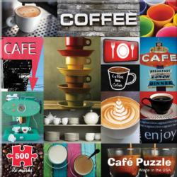 Cafe Collage Jigsaw Puzzle