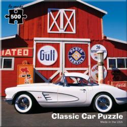 Corvette Classic Car Nostalgic / Retro Jigsaw Puzzle