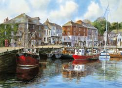 Padstow Harbour Seascape / Coastal Living Jigsaw Puzzle