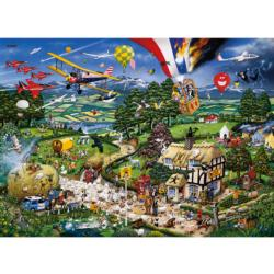 I Love the Country Landscape Jigsaw Puzzle