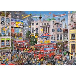 I Love London London Jigsaw Puzzle