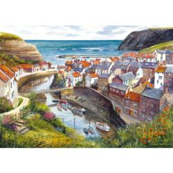Staithes Seascape / Coastal Living Jigsaw Puzzle
