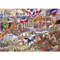 I Love the Weekend Cartoons Jigsaw Puzzle