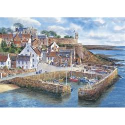 Crail Harbour Seascape / Coastal Living Jigsaw Puzzle