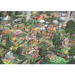 I Love Gardening People Jigsaw Puzzle