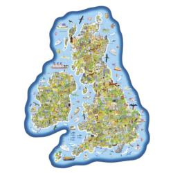 Jigmap Britain & Ireland United Kingdom Children's Puzzles