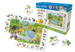 My ABC Jungle Safari Animals Jigsaw Puzzle
