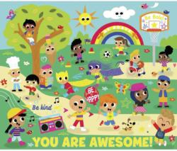 You Are Awesome People Children's Puzzles