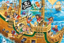 Pesky Pirates Pirates Children's Puzzles
