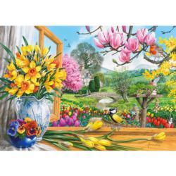 Springtime Splendour Flowers Jigsaw Puzzle