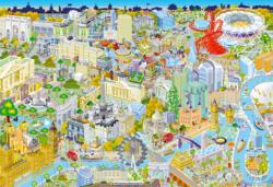London from Above - Scratch and Dent London Jigsaw Puzzle