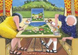 The Missing Piece Domestic Scene Jigsaw Puzzle