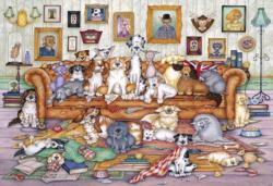 The Barker-Scratchits Dogs Jigsaw Puzzle