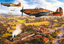Tangmere Hurricanes Military / Warfare Jigsaw Puzzle