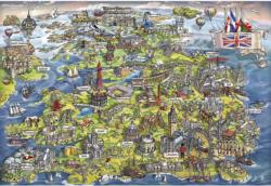 Beautiful Britain United Kingdom Jigsaw Puzzle