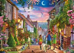 Mermaid Street, Rye Summer Jigsaw Puzzle