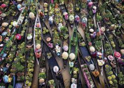 Floating Market Shopping Jigsaw Puzzle