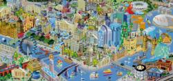 View from The Shard London Jigsaw Puzzle