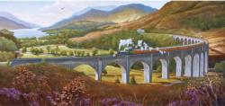 Glenfinnan Viaduct Landscape Panoramic Puzzle