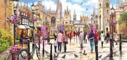 Cambridge United Kingdom Panoramic Puzzle