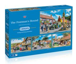The Postman's Round Street Scene Multi-Pack