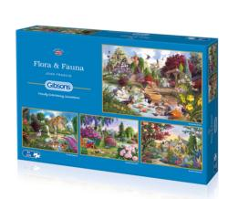Flora & Fauna Cottage/Cabin Multi-Pack