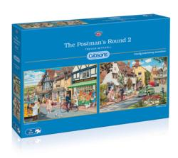 The Postman's Round 2 Street Scene Multi-Pack