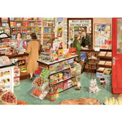 The Village Shop Shopping Jigsaw Puzzle