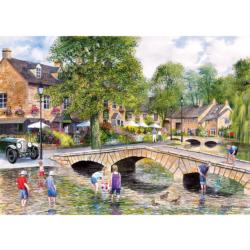Bourton on the Water Nostalgic / Retro Jigsaw Puzzle
