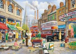 The Market Stall Street Scene Jigsaw Puzzle