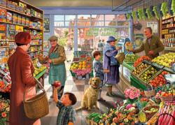 An Apple a Day Shopping Jigsaw Puzzle