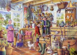 The Fishing Shed Fishing Jigsaw Puzzle