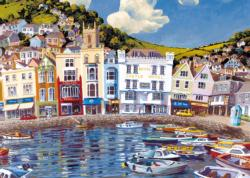 Boat Float Seascape / Coastal Living Jigsaw Puzzle