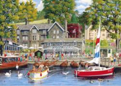 Summer in Ambleside Lakes / Rivers / Streams Jigsaw Puzzle