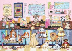 Woofit's Sweet Shop Sweets Jigsaw Puzzle