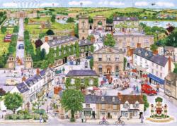 Wonderful Woodstock Cities Jigsaw Puzzle