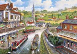 Ye Olde Mill Tavern Lakes / Rivers / Streams Jigsaw Puzzle