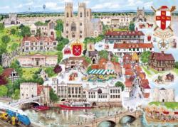York Europe Jigsaw Puzzle