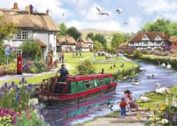 Swanning Along Lakes / Rivers / Streams Jigsaw Puzzle