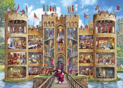 Castle Cutaway Fantasy Jigsaw Puzzle