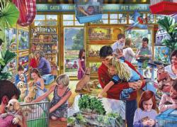 Furry Friends Shopping Jigsaw Puzzle