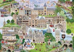 Oxford Europe Jigsaw Puzzle
