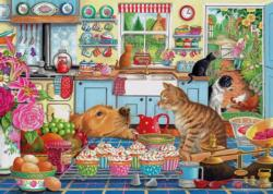 Tempting Treats Dogs Jigsaw Puzzle