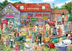 Pots & Penny Farthings Shopping Jigsaw Puzzle