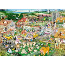 I Love Spring Landscape Jigsaw Puzzle