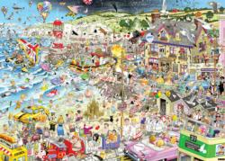 I Love Summer Cartoon Jigsaw Puzzle