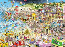 I Love Summer Cartoons Jigsaw Puzzle