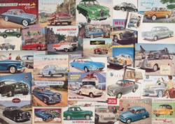Motoring Memories Collage Jigsaw Puzzle