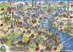 London Landmarks London Jigsaw Puzzle