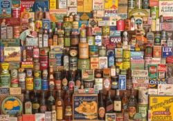 Brands That Built Britain Food and Drink Jigsaw Puzzle